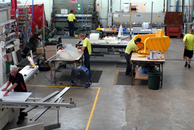 Manufacturing at Specialised Wholesale - Plastics and Sheetmetal Fabrication Services - CNC Routing, Laser and Engraving, Casting, Guarding & more
