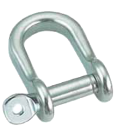 D-SHACKLE SEMI ROUND TYPE